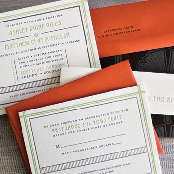 Hammerpress Custom Wedding Invitations